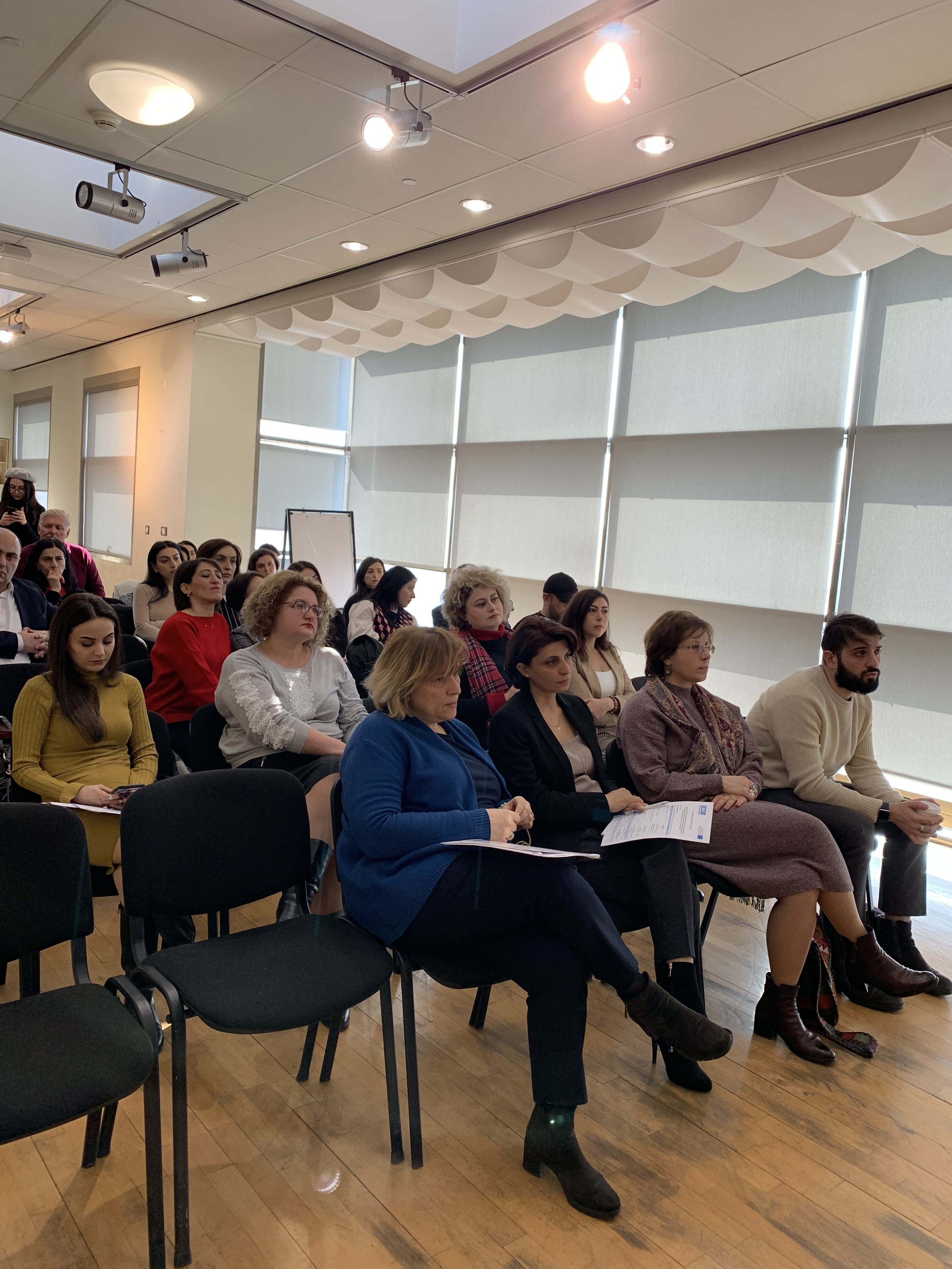 ԲՈՒՍԹ ծրագրի շրջանակում կազմակերպված համաժողով Երևանում
