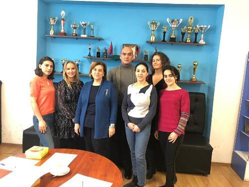 Work-shadowing in Armenia in the framework of NACAR - Norwegian-Armenian Cooperation in Admission and Recognition project