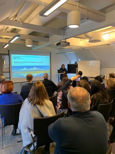 Արդյունավետ հանդիպում շվեդական ԷՆԻԿ-ՆԱՐԻԿ-ի հետ